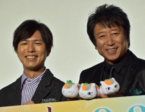 (左から)神谷浩史、井上和彦 (C)ORICON NewS inc.