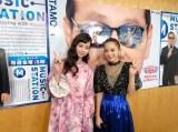 西野カナと中条あやみが『ミュージックステーション』で共演