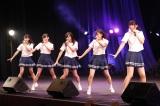 ドラフト3期研究生が「スカート、ひらり」=瀬戸内7県拠点のSTU48がチャリティーコンサートツアーをスタート(C)STU