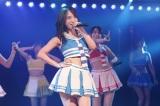 キャプテンの高橋朱里=AKB48新チームB『シアターの女神』公演初日より(C)AKS