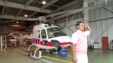 2時間ぜんぶ春日ショー『空から村人発見! パシれ! 秘境ヘリコプター』テレビ東京系で9月9日放送(C)テレビ東京