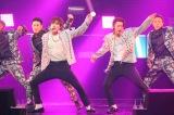 『SUPER JUNIOR-D&E JAPAN TOUR』をスタートさせた(左から)ウニョク、ドンヘ