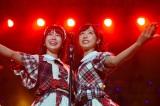 『Indonesia-Japan Music Festival』AKB48単独ステージ(左から)小田えりな、小栗有以(C)AKS/(C)JKT48 Project