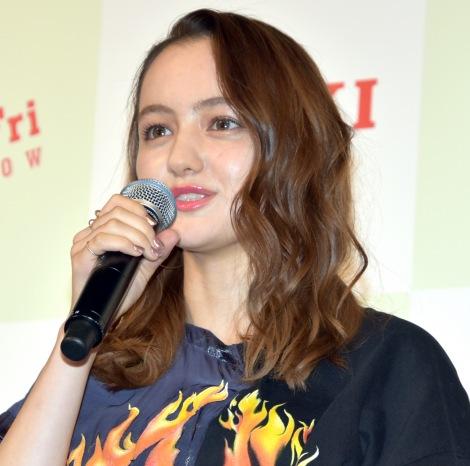 映画『響 -HIBIKI-』学生限定公開直前イベントに出席したアヤカ・ウィルソン (C)ORICON NewS inc.
