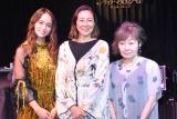 映画『食べる女』トークイベントに出席した(左から)Leola、RIKACO、筒井ともみ氏 (C)ORICON NewS inc.