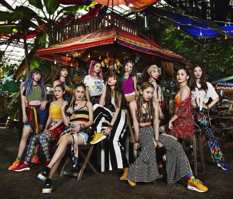 E-girls「おどるポンポコリン」でスペシャルコラボ披露『Mステ ウルトラFES 2018』