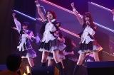 「夢の鐘」(駒田・松岡・田中菜)=HKT48チームH『RESET』公演初日より(C)AKS