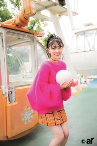 サムネイル 『ar』10月号に登場した乃木坂46・堀未央奈