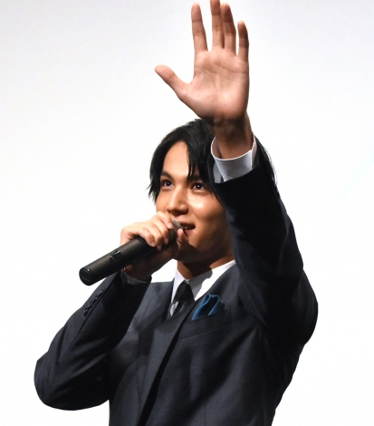 告白対決でエア壁ドンを披露した中川大志 (C)ORICON NewS inc.