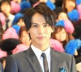 映画『覚悟はいいかそこの女子。』完成披露上映会に出席した中川大志 (C)ORICON NewS inc.