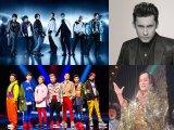 9月17日放送『ミュージックステーション ウルトラFES 2018』最強振り付けダンスメドレーの登場アーティスト(一部)(上段左から)三代目 J Soul Brothers、ダン・バラン(O-Zone)(下段左から)DA PUMP、松平健