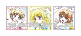 『魔法少女リリカルなのは Reflection』リマスター版入場者プレゼントである色紙風描き下ろしイラストカード(C)NANOHA Detonation PROJECT
