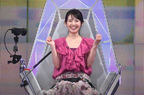 9月26日放送、テレビ朝日系『ザ・タイムショック』三浦奈保子(C)テレビ朝日