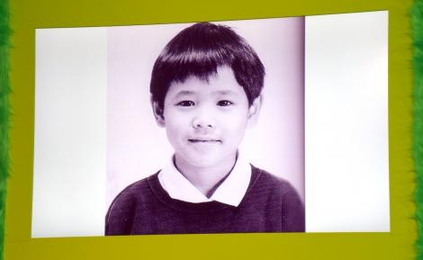宮野真守の幼少期写真を公開=映画『グリンチ』吹替版製作発表会見 (C)ORICON NewS inc.
