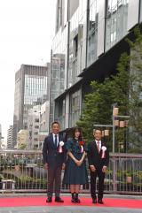 渋谷ストリームが開業=大規模複合施設「渋谷ストリーム」および「渋谷川沿い遊歩道」落成記念のオープニングセレモニー (C)ORICON NewS inc.