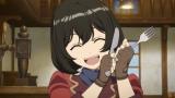 新作オリジナルアニメ『荒野のコトブキ飛行隊』のPV場面カット(キリエ)