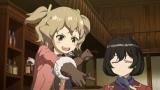 新作オリジナルアニメ『荒野のコトブキ飛行隊』のPV場面カット(チカ)
