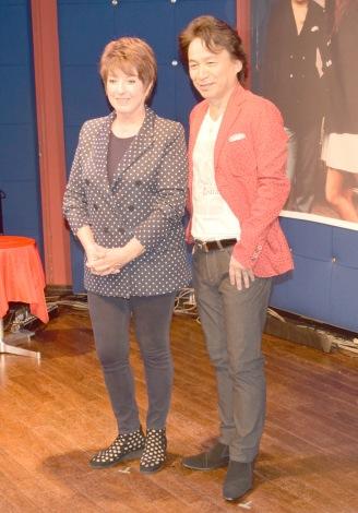 新デュオ・タカ&ロザンナ結成=記念アルバム『CINQUANT' ANNI D'AMORE 〜50年に愛をこめて〜』会見 (C)ORICON NewS inc.