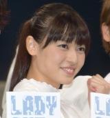 舞台『LADY OUT LAW!』のゲネプロに出席した元℃-uteのメンバー矢島舞美 (C)ORICON NewS inc.