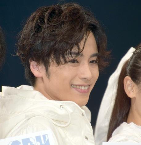 舞台『LADY OUT LAW!』のゲネプロに出席した鈴木勝吾 (C)ORICON NewS inc.