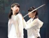 舞台『LADY OUT LAW!』のゲネプロの模様 (C)ORICON NewS inc.