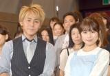 映画『コーヒーが冷めないうちに』公開イベントに出席した(左から)ヒロシ、有村架純 (C)ORICON NewS inc.
