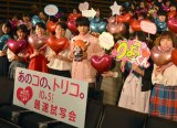 ハートの風船を持った若い女性たちに囲まれている吉沢亮 (C)ORICON NewS inc.