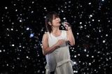 幻想的な空間の中で「誓い」を熱唱する宇多田ヒカル(C)テレビ朝日