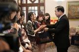 タイ首相官邸を訪れたAKB48(C)AKS