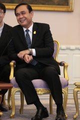 タイのプラユット・チャンオチャ首相(C)AKS