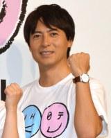 『テレビ65年 NHK×日テレ コラボデー』の記者会見に出席した桝太一アナウンサー (C)ORICON NewS inc.