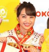 『ももいろクローバーZ ×3COINS/ASOKO コラボ商品企画』発表記者会見に出席した百田夏菜子