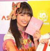 『ももいろクローバーZ ×3COINS/ASOKO コラボ商品企画』発表記者会見に出席した佐々木彩夏