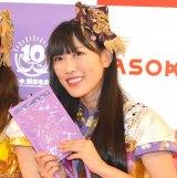 『ももいろクローバーZ ×3COINS/ASOKO コラボ商品企画』発表記者会見に出席した高城れに