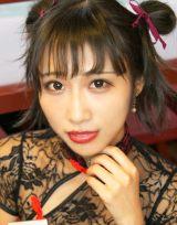 キュートな笑顔でギャラリーを魅了した、咲坂あいりさん (C)oricon ME inc.