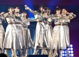 日本武道館で4thシングル「世界の人へ」を披露したNGT48 (C)ORICON NewS inc.