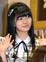 角ゆりあ=『新章 NGT48宣言!! 〜世界の人よ、共に歌おう〜』 (C)ORICON NewS inc.