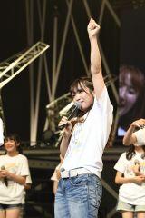 明るく卒業発表したSKE48の松村香織(C)AKS