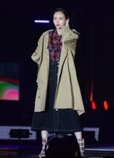『Girls Award 2018 A/W』に登場した岡田紗佳 (C)ORICON NewS inc.