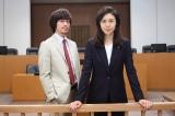松嶋菜々子(右)と初タッグを組んだ関ジャニ∞の丸山隆平