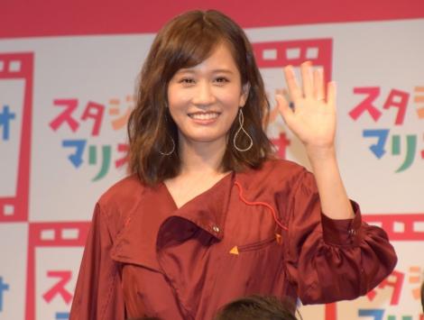 サムネイル 第1子妊娠発表後、初めて公の場に登場した前田敦子 (C)ORICON NewS inc.