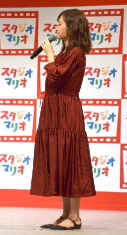 第1子妊娠発表後、初めて公の場に登場した前田敦子=子ども写真館『スタジオマリオ』の新CMキャラクター就任イベント (C)ORICON NewS inc.