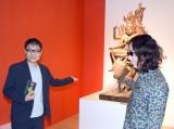 仏像を紹介した(左から)いとうせいこう、みうらじゅん (C)ORICON NewS inc.