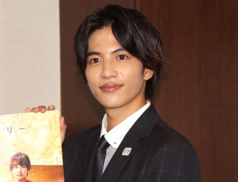 映画『走れ!T校バスケット部』主演としてスポーツ庁を表敬訪問した志尊淳 (C)ORICON NewS inc.