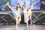『SKE48 リクエストアワー』1位はだ〜す〜(須田亜香里)&つ〜ま〜(松村香織)「ここで一発」(C)AKS