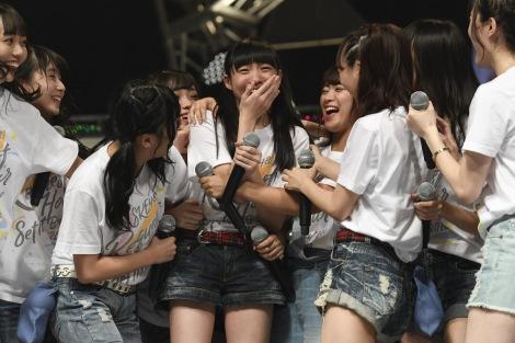 研究生の昇格をサプライズ発表=『SKE48 リクエストアワー セットリストベスト100 2018』16日夜公演(C)AKS