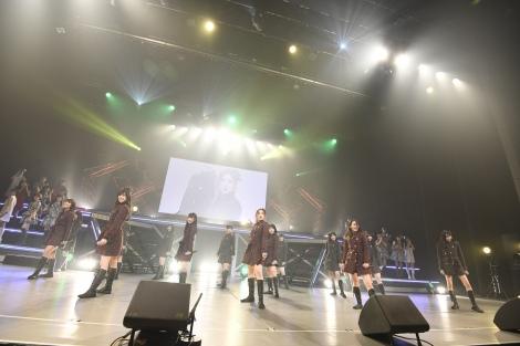 28位「恋を語る詩人になれなくて」=『SKE48 リクエストアワー セットリストベスト100 2018』16日昼公演(C)AKS
