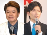 (左から)ヒロミ、青木源太アナ (C)ORICON NewS inc.