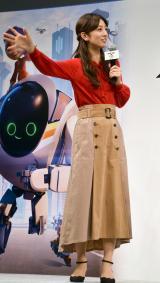 アニメーション映画『ネクスト ロボ』親子プレミア上映会に出席した小倉優子 (C)ORICON NewS inc.