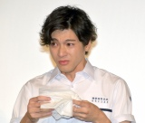 共演者を思って男泣きした山田裕貴=映画『あの頃、君を追いかけた』完成披露試写会 (C)ORICON NewS inc.